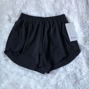 Lululemon Black Always Airy Run Short 3.5""